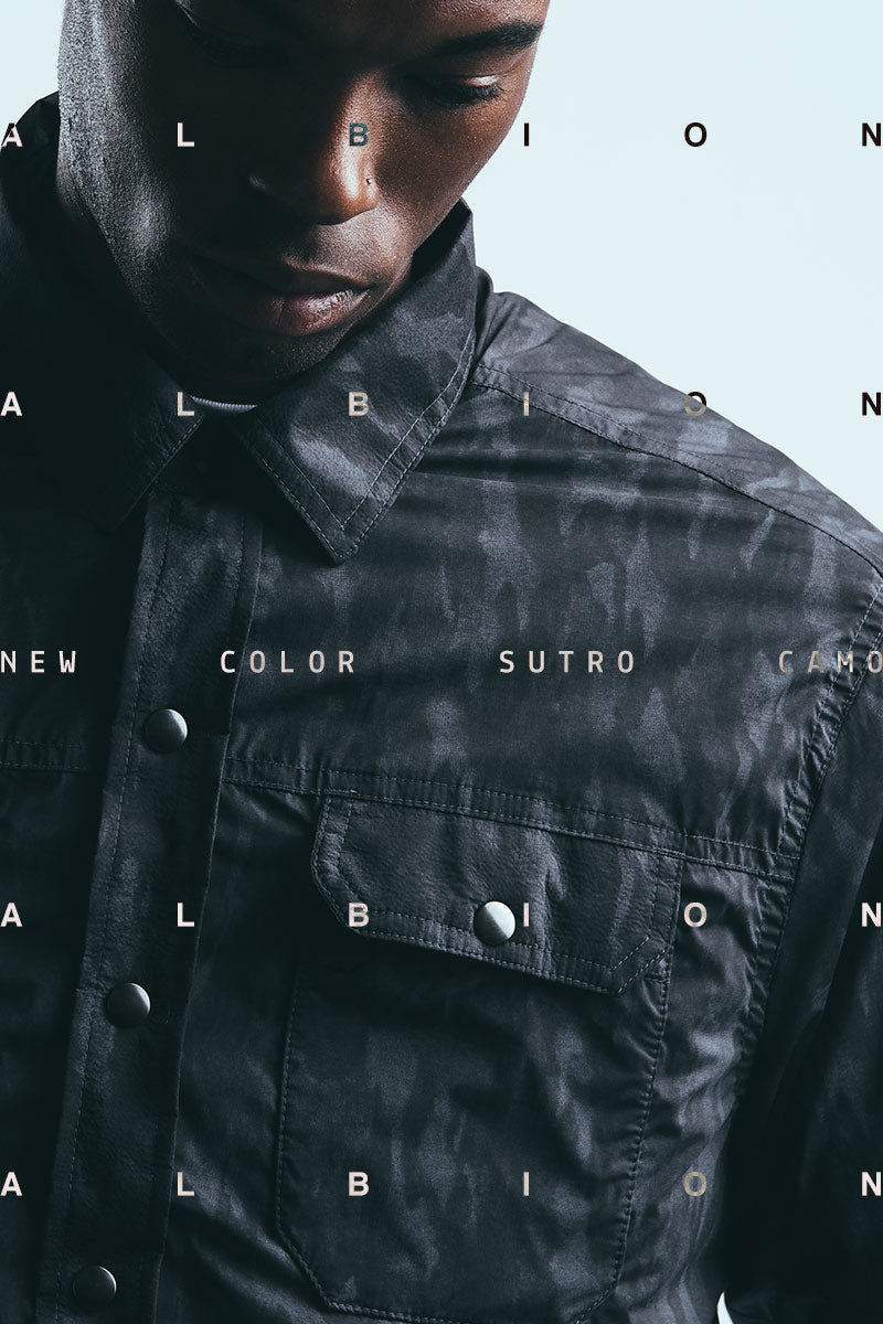 The Mission Workshop Albion Water-Resistant Insulated Shirt Jacket