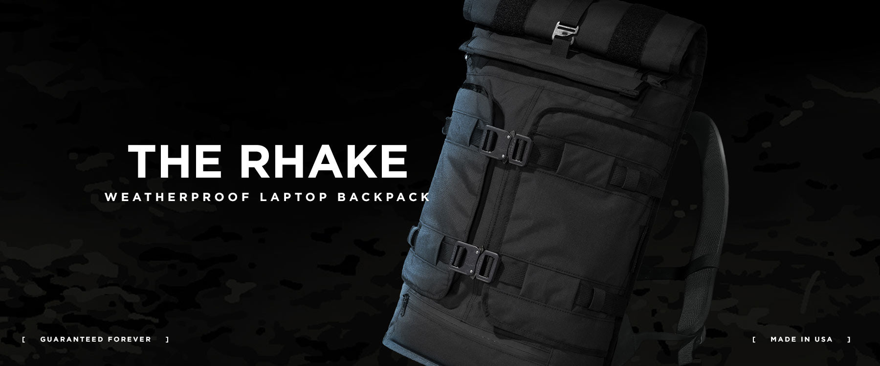 The Mission Workshop Rhake Weatherproof Laptop Backpack