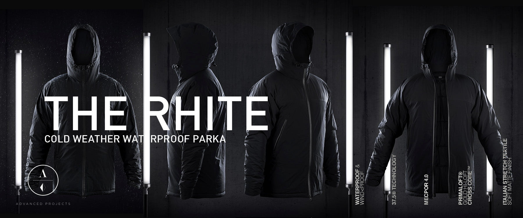 The Rhite – Cold Weather Waterproof Primaloft® Parka