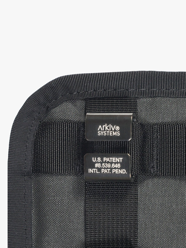 Arkiv Vertical Zippered Pocket by Mission Workshop - Weatherproof Bags & Technical Apparel - San Francisco & Los Angeles - Built to endure - Guaranteed forever