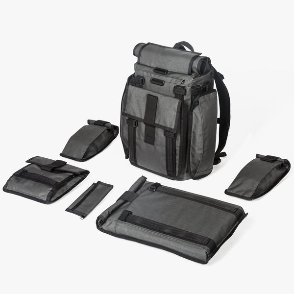 Arkiv® Modular System by Mission Workshop - Weatherproof Bags & Technical Apparel - San Francisco & Los Angeles - Built to endure - Guaranteed forever