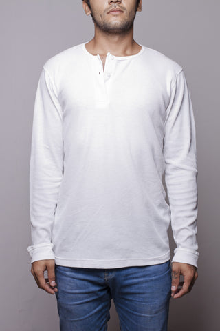 ASKO - Basic Long Sleeve White