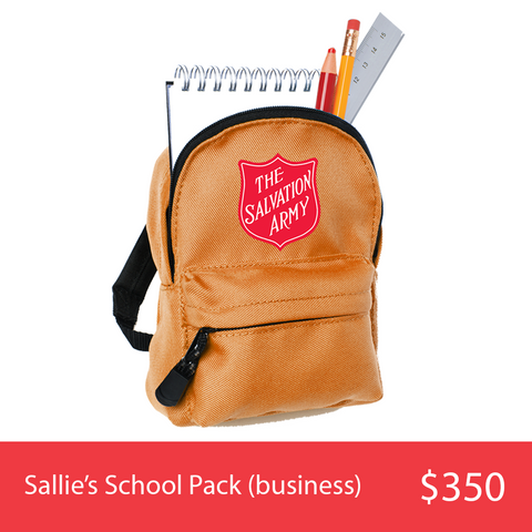 Sallie's School Pack (Business)
