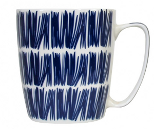 Mug modern blue assorted