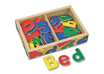 Melissa & Doug Alphabet Magnet in a box