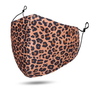 MASKiT Face Mask Animal Print Leopard
