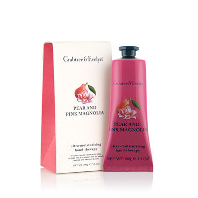 Crabtree & Evelyn Pear and Pink Magnolia Hand Therapy 100g