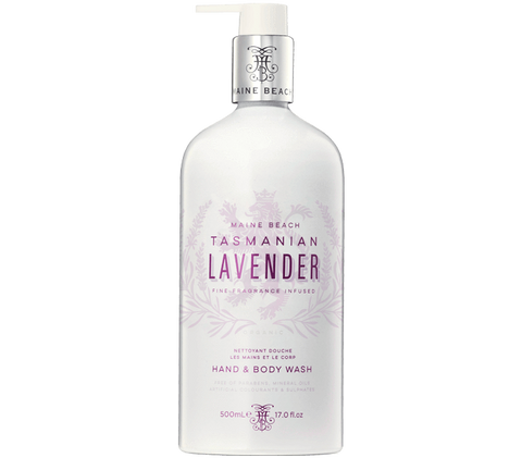 Tasmanian lavender hand and body wash 500ml