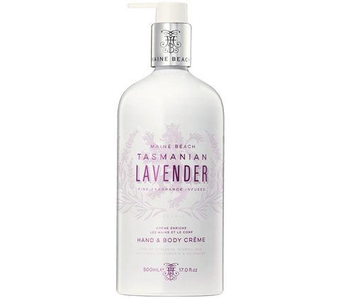 Tasmanian lavender hand and body cream 500ml