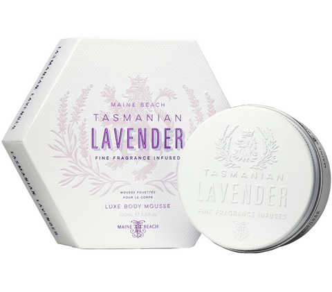 Tasmanian lavender body mousse 150ml