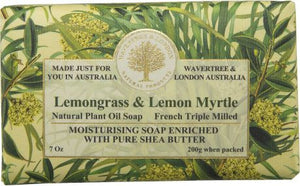 Wavertree & London Lemongrass & Lemon Myrtle Soap 200g