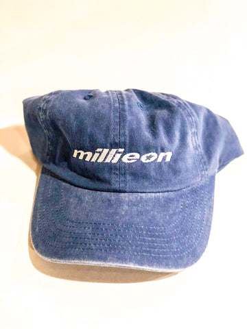 Millieon  blue denim hat