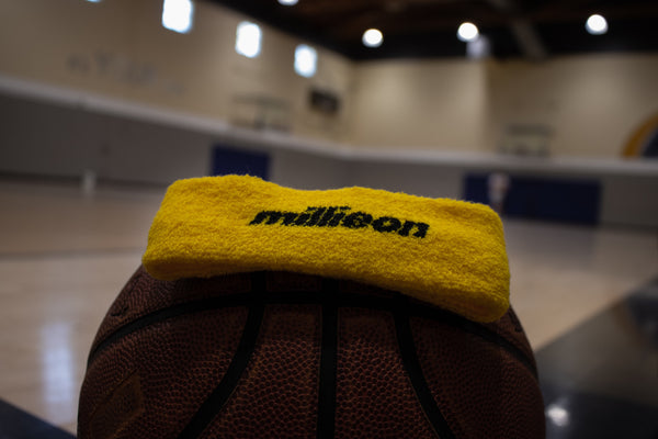 Yellow millieon headband
