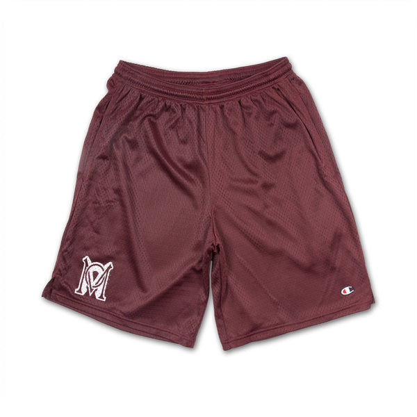*LTD Millieon x Champion Basketball Shorts - Maroon