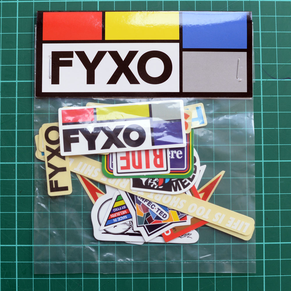 FYXO Sticker Set