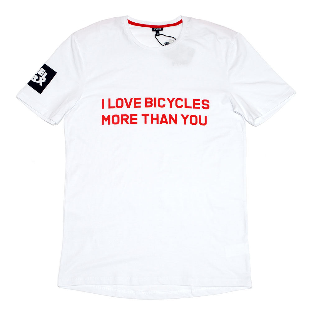 I LOVE BICYCLES MORE THAN YOU T-Shirt - FYXO