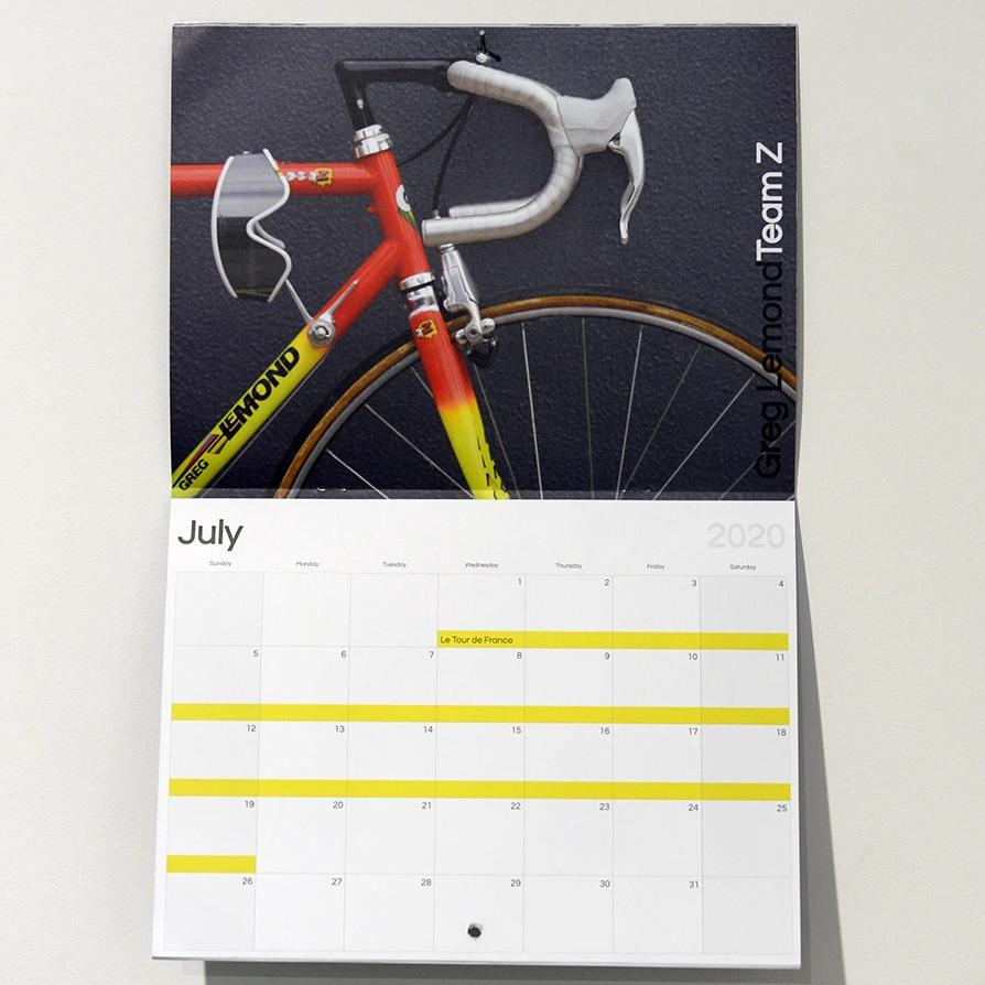 FYXO Bicycle Calendar 2020 - FYXO Cycling Apparel