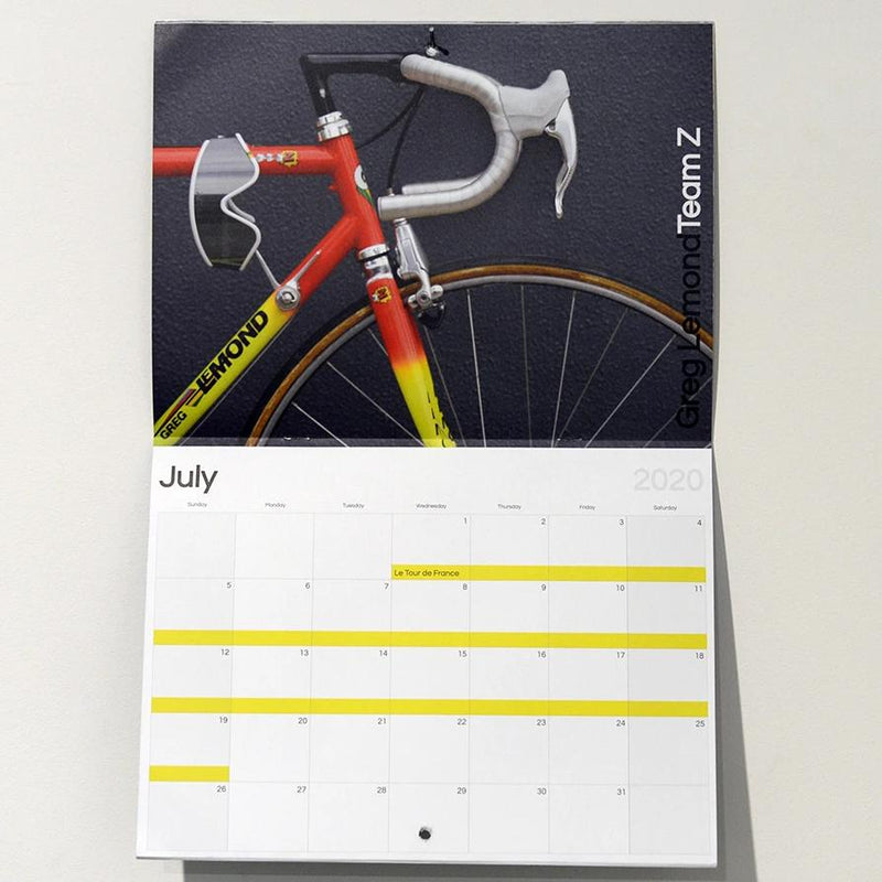 FYXO Bicycle Calendar 2020