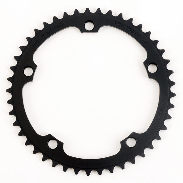 135BCD 1/8 Track Chainring - Campagnolo - BLACK