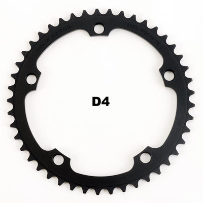 130BCD 1/8 Track Chainring - BLACK - FYXO