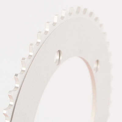 130BCD 1/8 Track Chainring - SILVER - FYXO