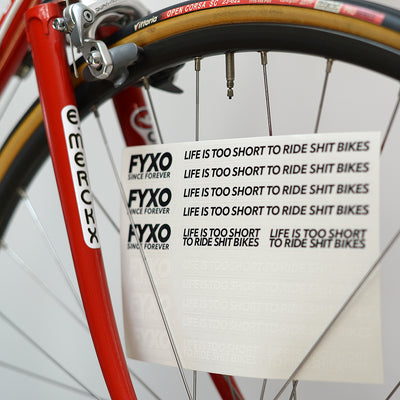 FYXO Sticker Set - Life is too short - FYXO