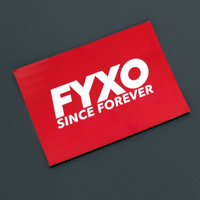FYXO Sticker Set - Life is too short - FYXO Cycling Apparel