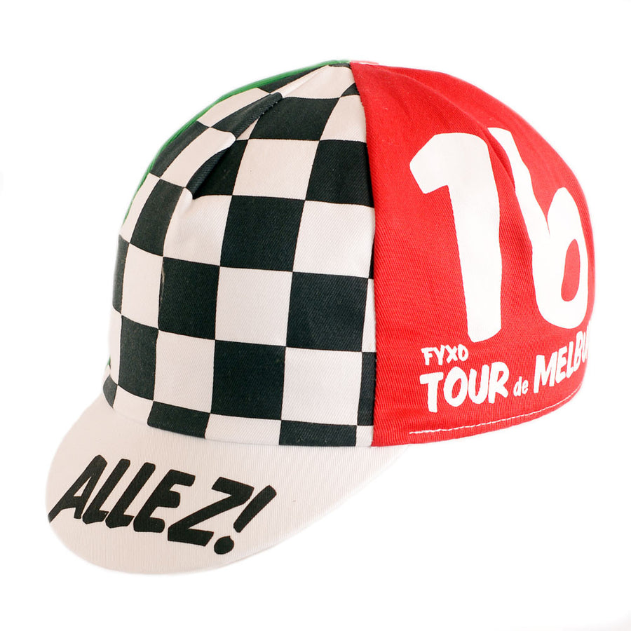 Tour de Melburn Cycling Cap - FYXO Cycling Apparel