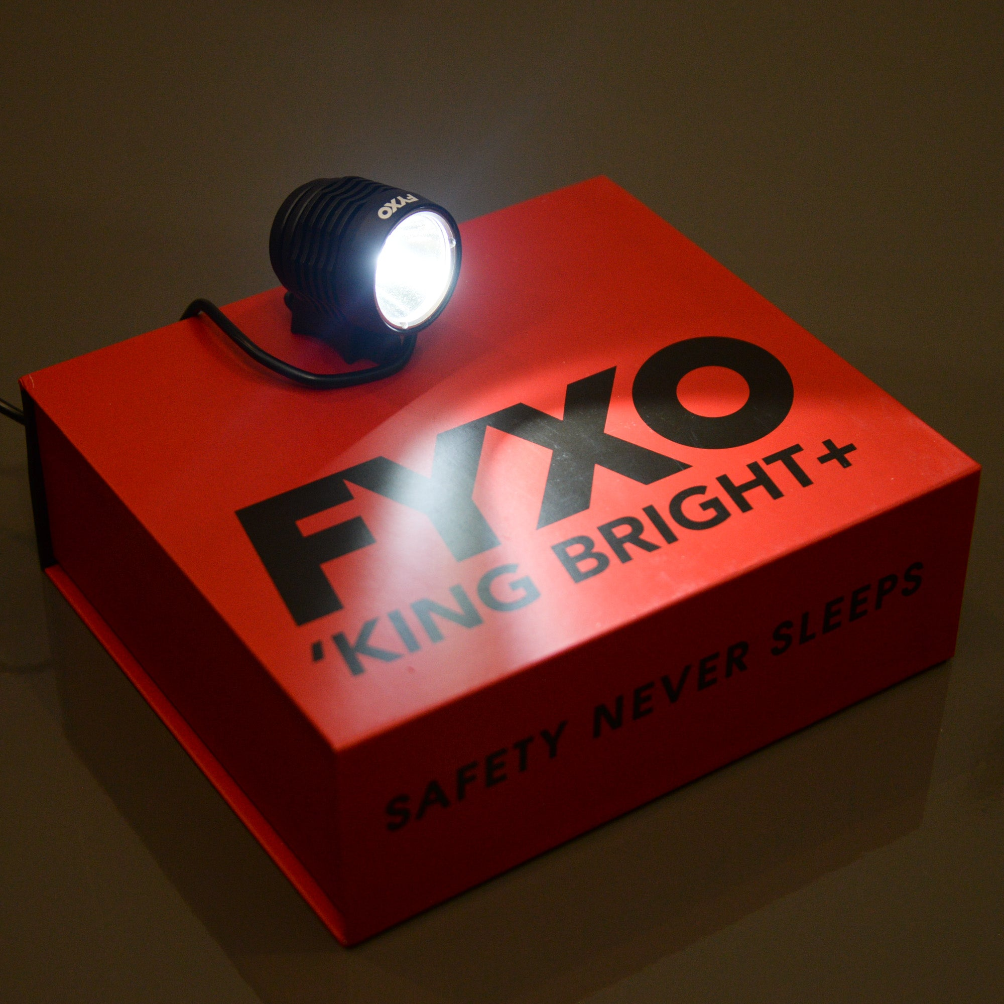 FYXO 'KING BRIGHT+ high power bicycle light - FYXO