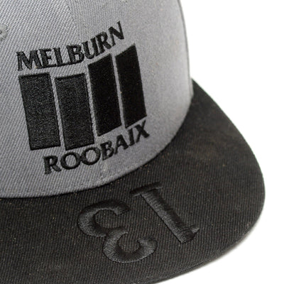MELBURN ROOBAIX Limited Snapback Cap - FYXO Cycling Apparel