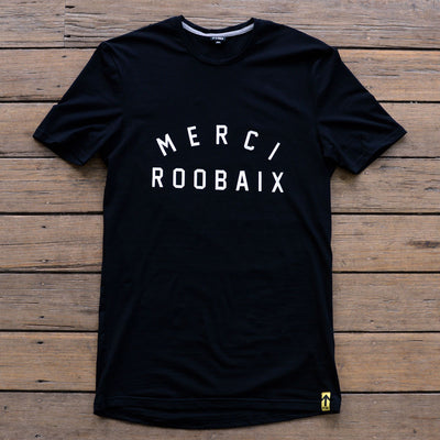 MERCI ROOBAIX T-Shirt - FYXO Cycling Apparel