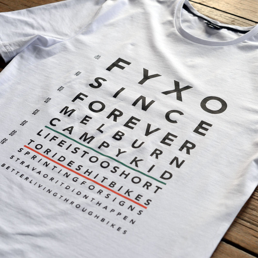 EYE Test T-Shirt - FYXO Cycling Apparel