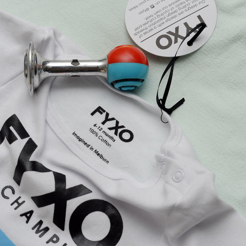 Lil' Champion Baby Onesie - FYXO Cycling Apparel