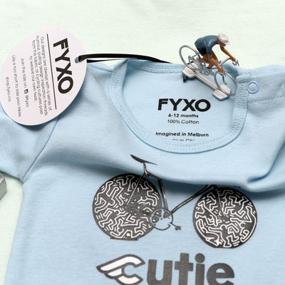 Cinelli Cutie Baby Onesie - FYXO Cycling Apparel