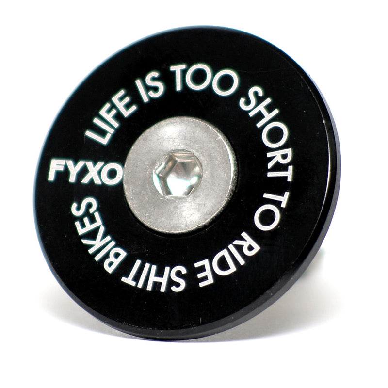 FYXO Headset Cap - Life is too short to ride shit bikes - FYXO Cycling Apparel