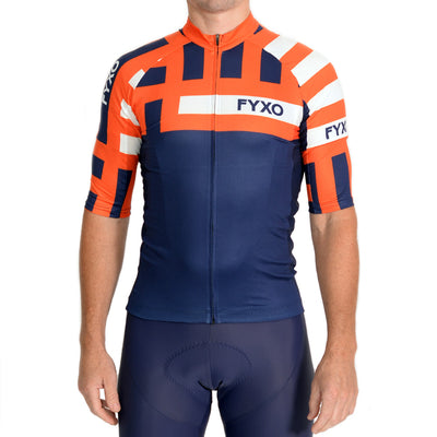 Distract Road Jersey - Arancia - FYXO Cycling Apparel