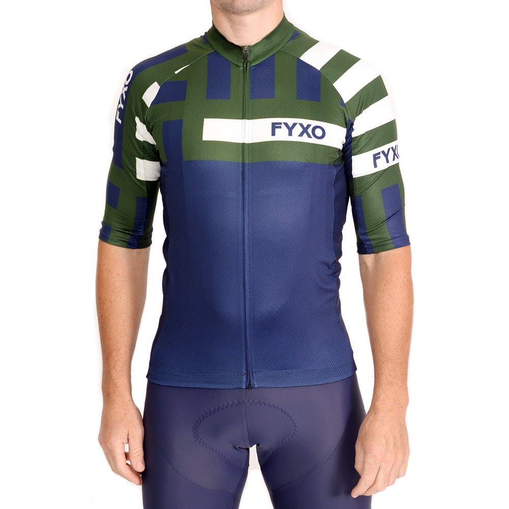 Distract Road Jersey- Verde - FYXO