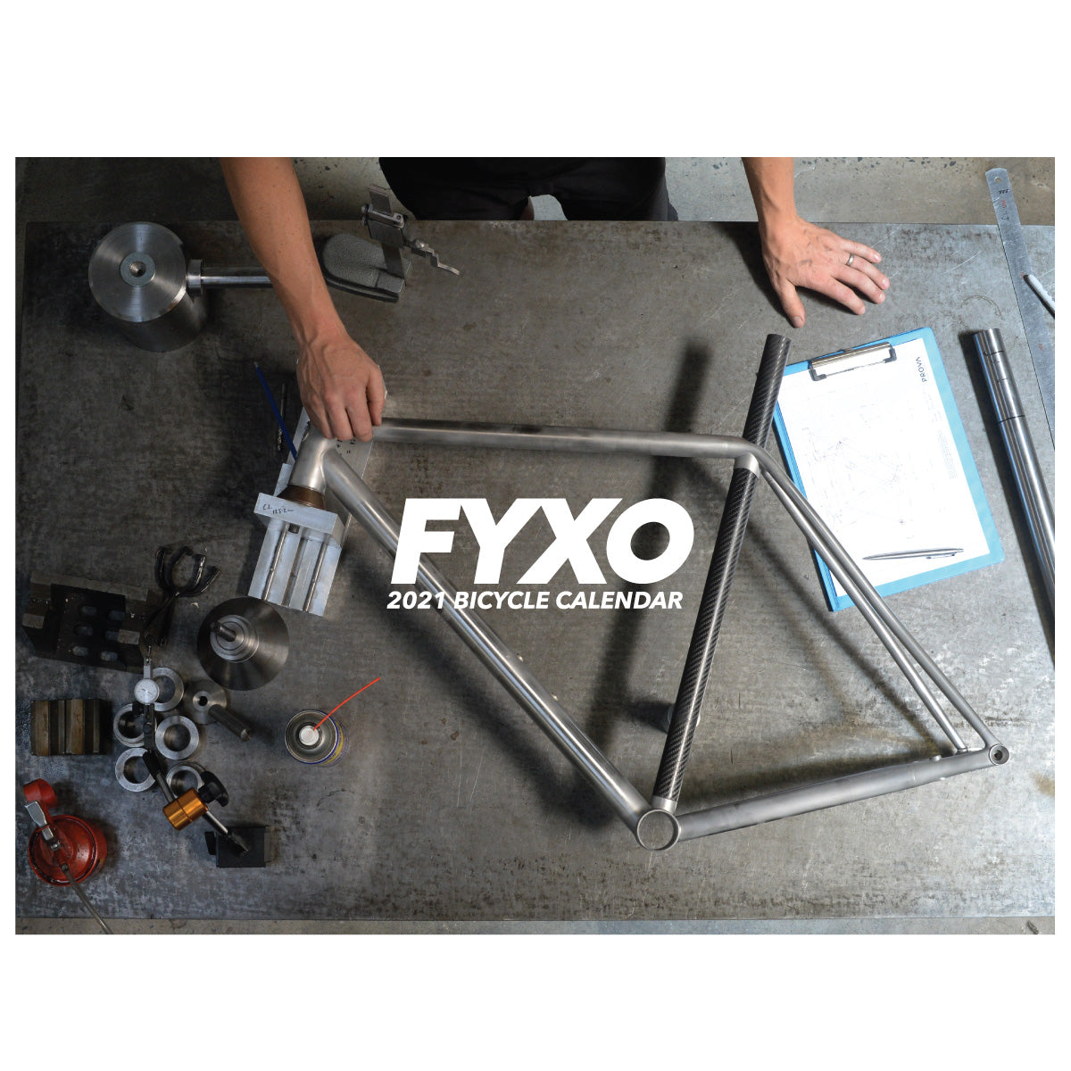 FYXO Bicycle Calendar 2021 - FYXO Cycling Apparel