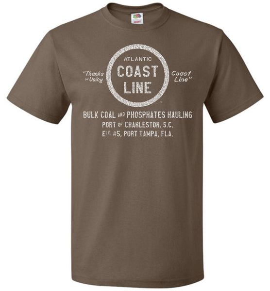 Atlantic Coast Line Railroad T-Shirt - Boxcar (Adult/Youth) - Ringaboy LLC-
