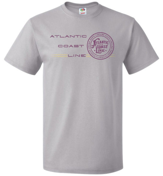 Atlantic Coast Line Railroad T-Shirt - Passenger (Adult/Youth) - Ringaboy LLC-