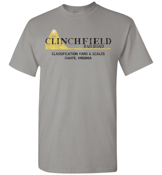 "Clinchfield Railroad T-Shirt - ""800"" (Adult/Youth) - Ringaboy LLC-"