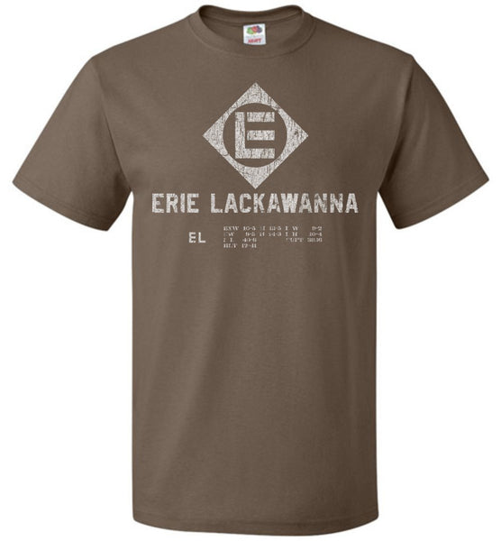 Erie Lackawanna Railroad T-Shirt - Rolling Stock (Adult/Youth) - Ringaboy LLC-