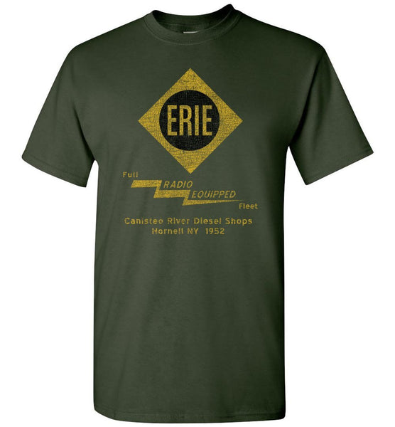 Erie Railroad T-Shirt - Radio (Adult/Youth) - Ringaboy LLC-