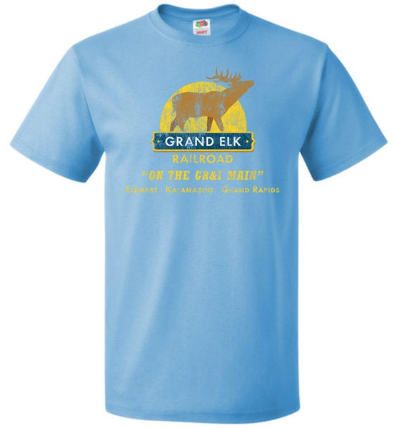 Grand Elk Railroad T-Shirt - Emblem (Adult/Youth) - Ringaboy LLC-