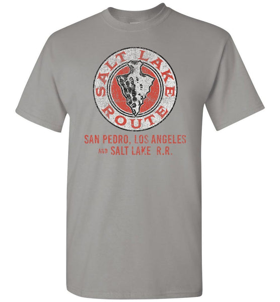 Los Angeles & Salt Lake Railroad T-Shirt - Arrowhead (Adult/Youth) - Ringaboy LLC-