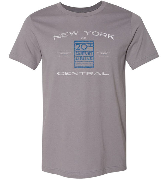 New York Central Railroad Premium T-Shirt - Passenger (Adult/Youth) - Ringaboy-