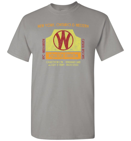 New York, Ontario and Western Railway T-Shirt (Adult/Youth) - Ringaboy-