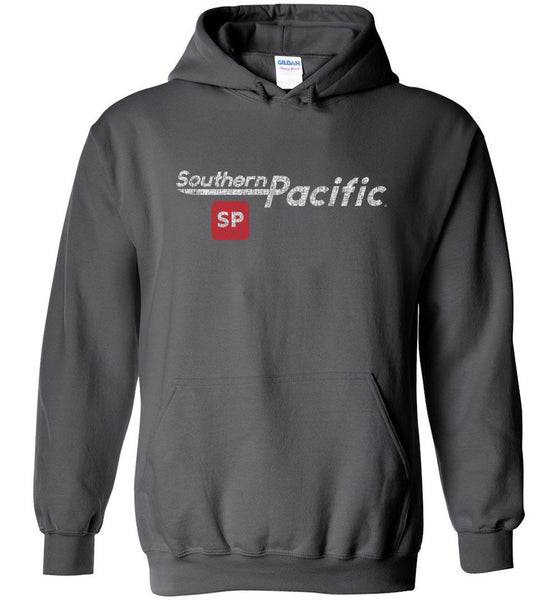 Southern Pacific Heavyweight Hoodie - Speed Lettering (Adult/Youth) - Ringaboy LLC-