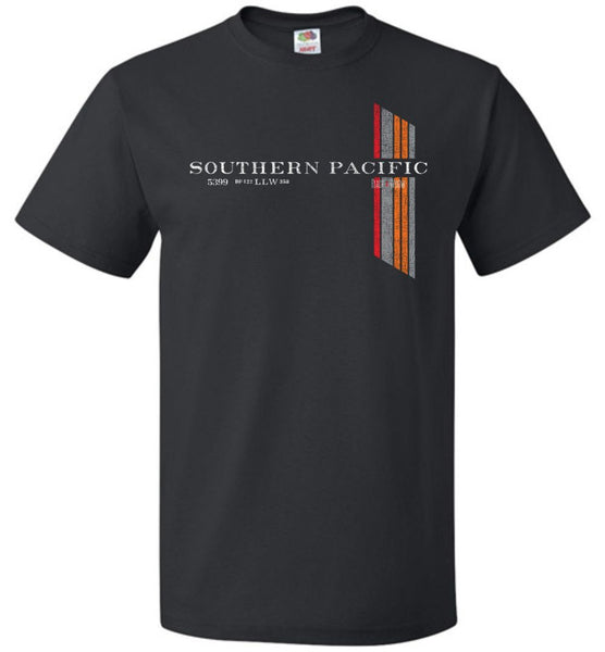 Southern Pacific Railroad T-Shirt - Black Widow (Adult/Youth) - Ringaboy LLC-