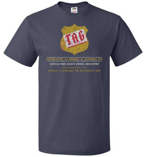 TAG Route Railway T-Shirt - Red & Gold (Adult/Youth) - Ringaboy LLC-